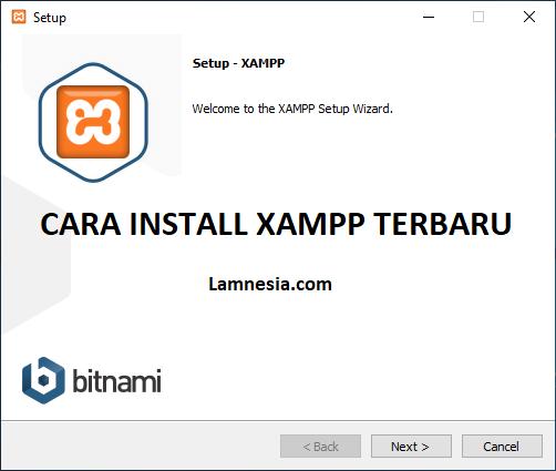 Cara Install XAMPP Terbaru