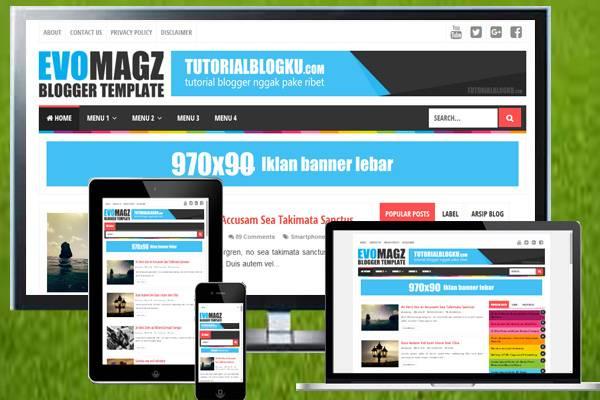 Download Template Evo Magz Terbaru Premium