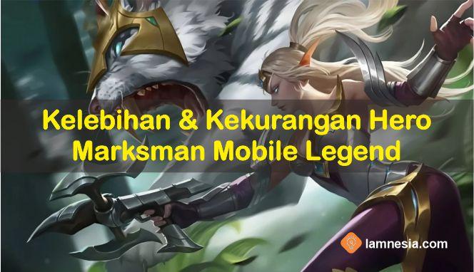 Kelebihan dan Kekurangan Marksmand di Mobile Legends